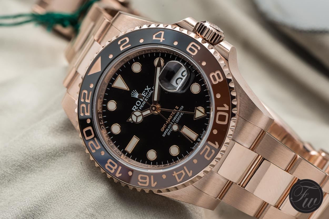 Hands On With The Rolex Gmt Master Ii Everose Reference 126715chnr