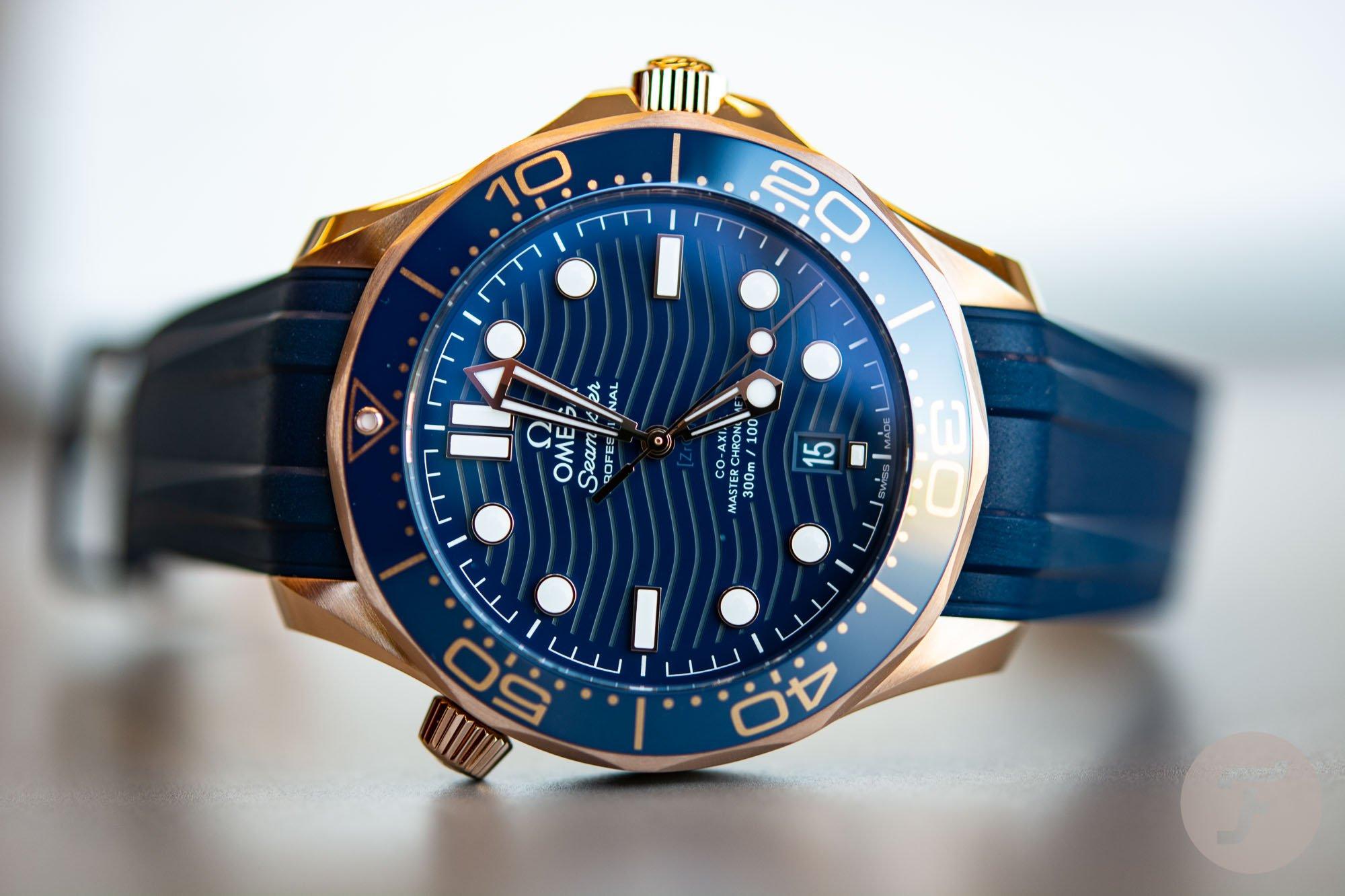 Hot Take Omega Seamaster 300m Sedna Gold