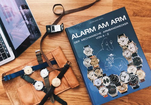 #TBT The most comprehensive book on alarm watches ALARM AM ARM and short chat with author Leo Beitl