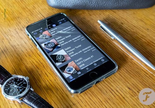 Watchee, an iOS App for Watch Collectors Or how to easily keep track of your watch collection
