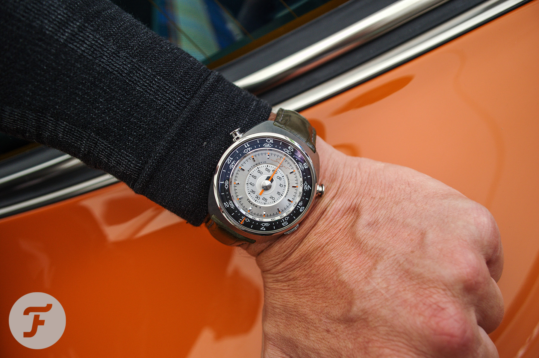 Revisiting A Cool Chronograph — The Singer Reimagined Track1 Chronograph