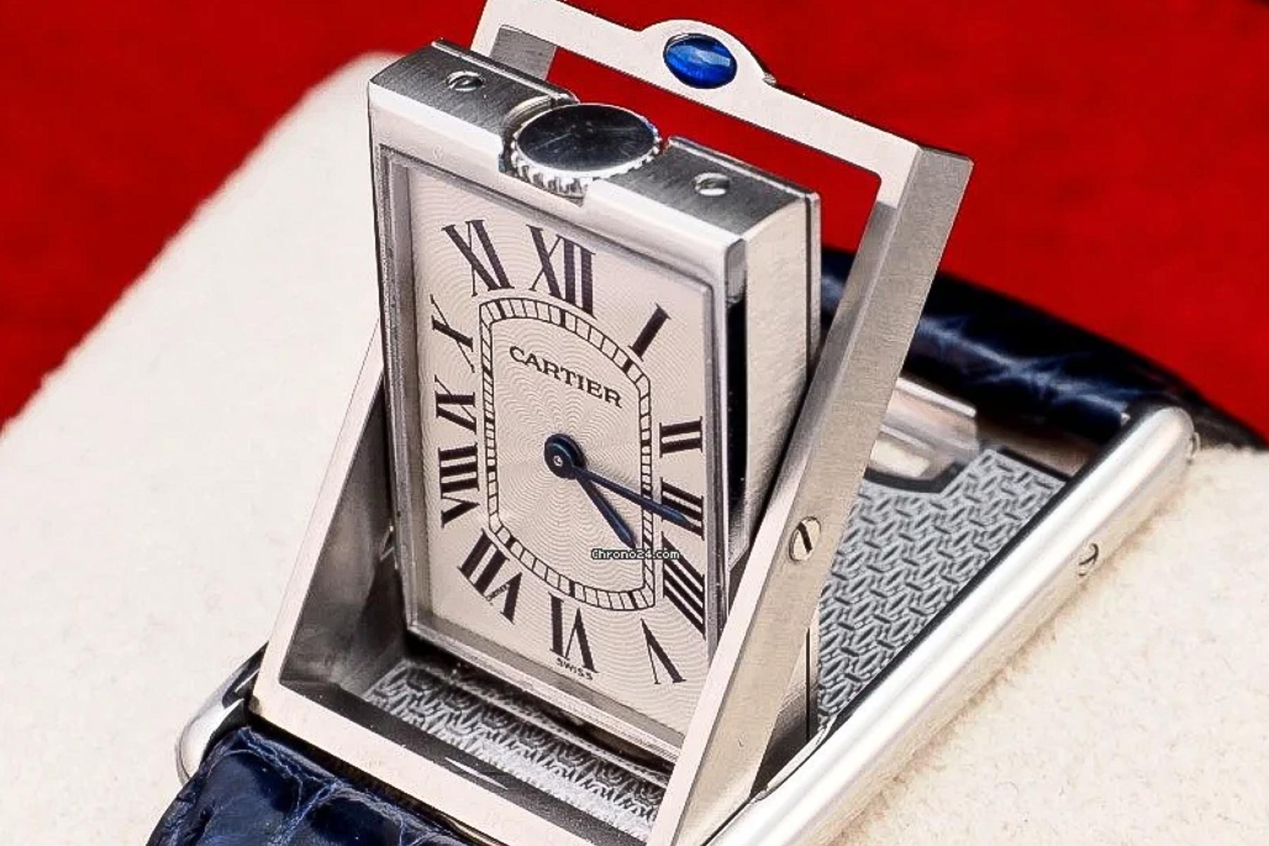 Wrist Game or Crying Shame: Cartier Tank Basculante 2390