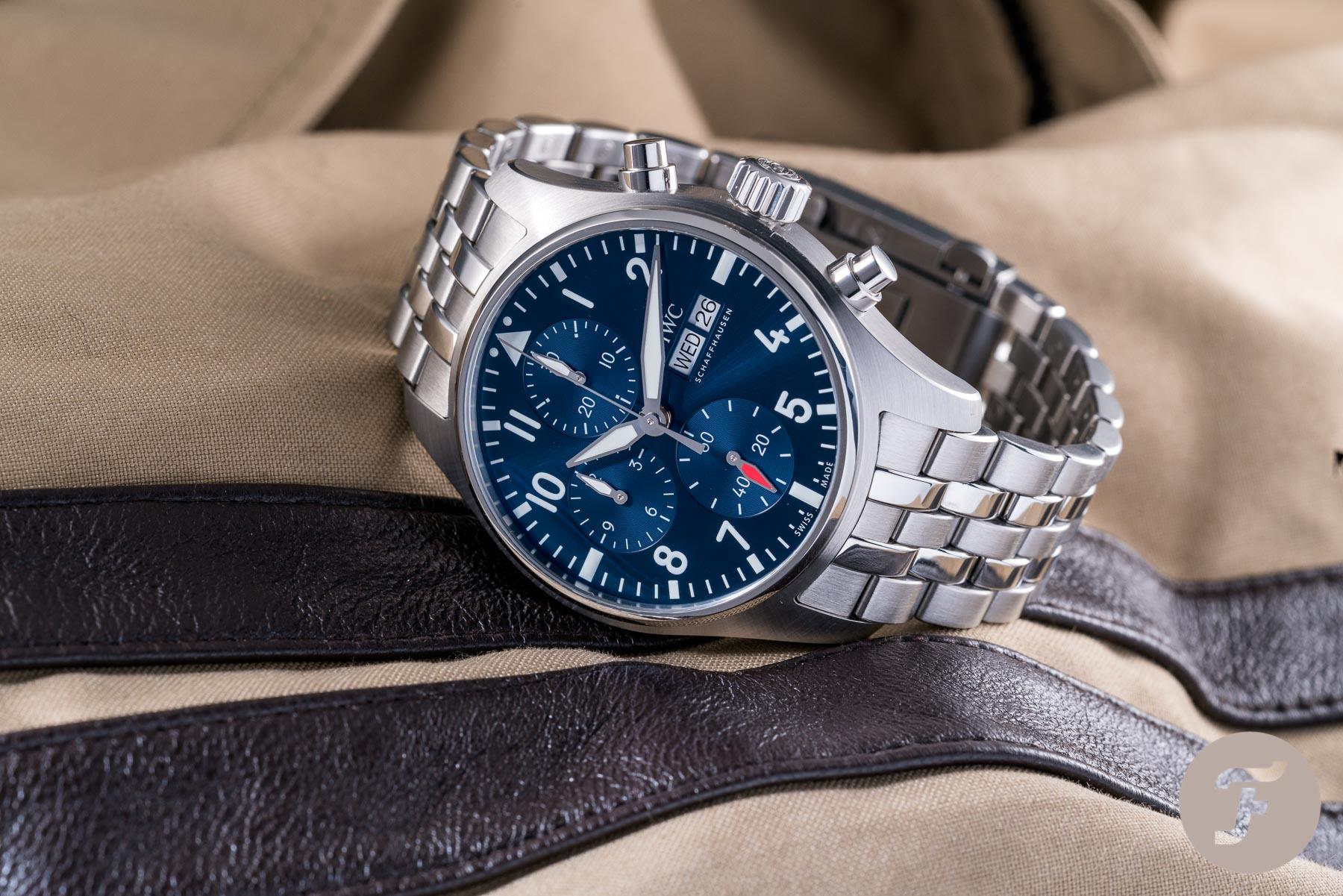 Sunday Morning Showdown: Pilot's Paragon — IWC Vs. Breitling
