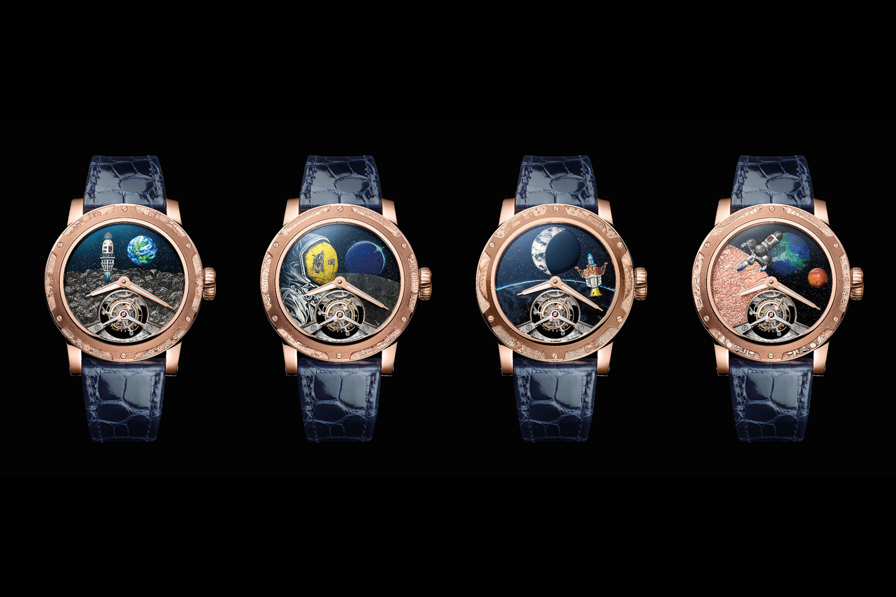 Watches & Wonders 2021: Louis Moinet Brings The Space Race To Life With Their Unique Moon Series