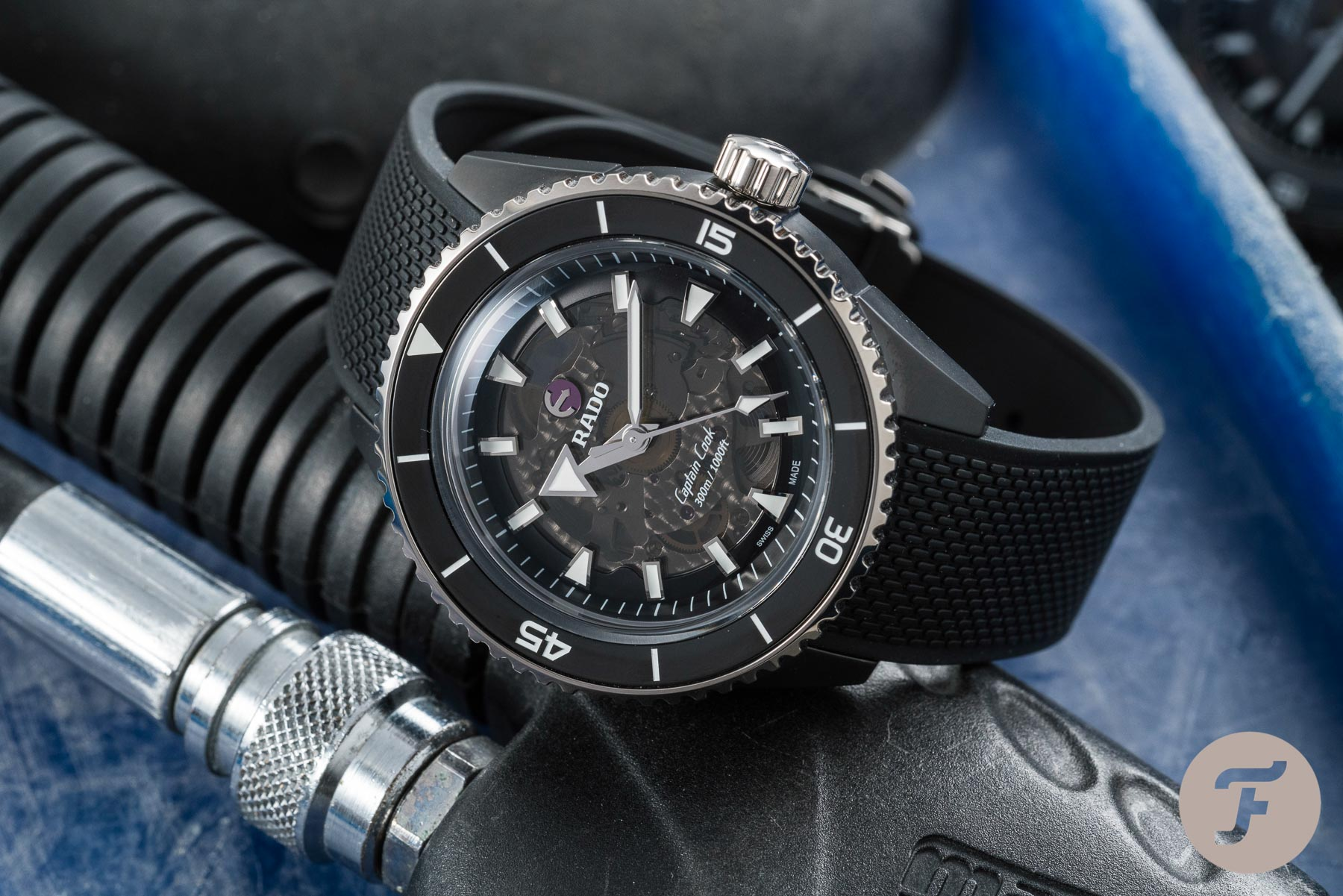 Hands-On With The RADO Captain Cook High-Tech Ceramic