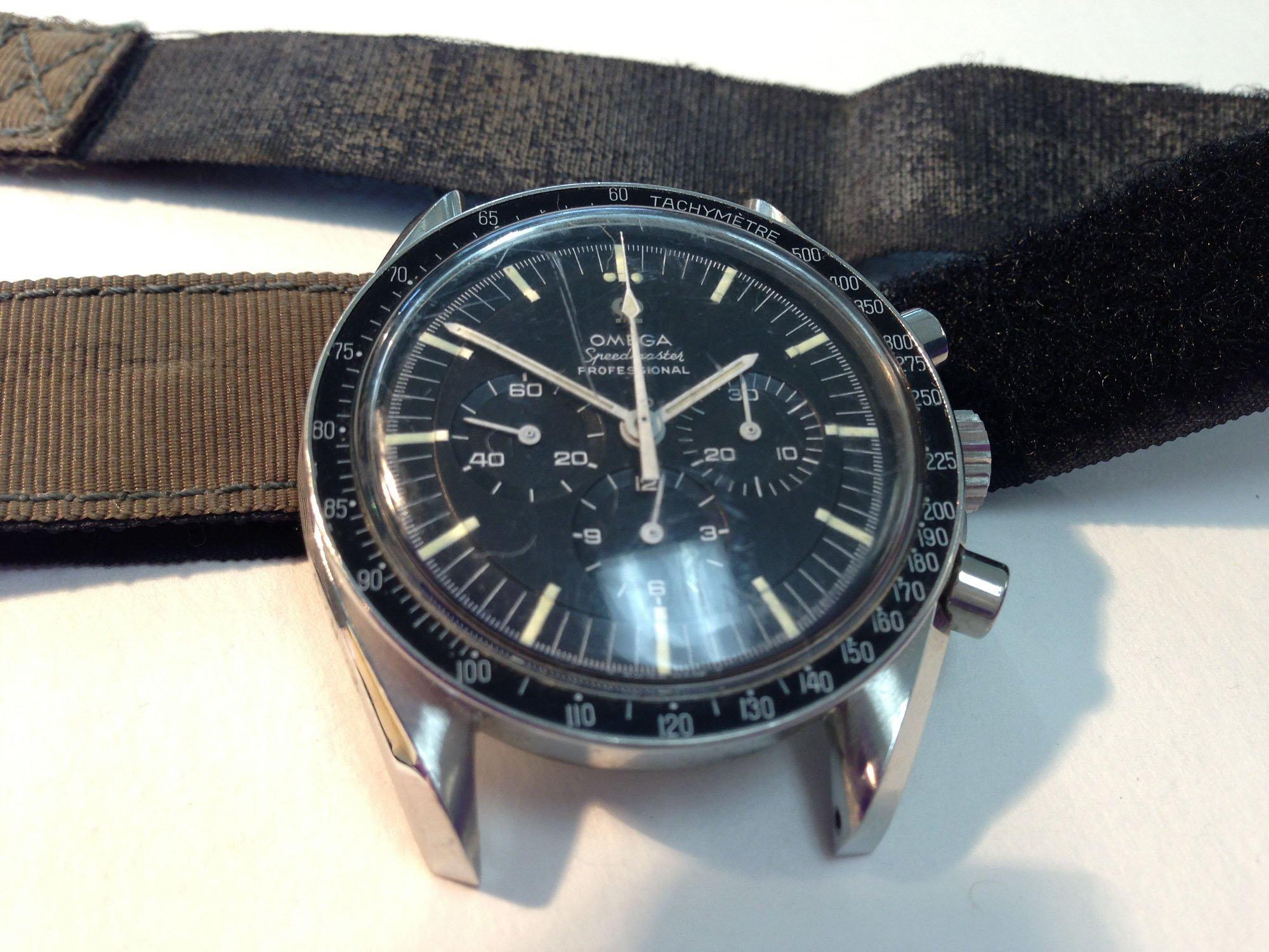 Astronaut Michael Collins' Omega Speedmaster Professional 145.012
