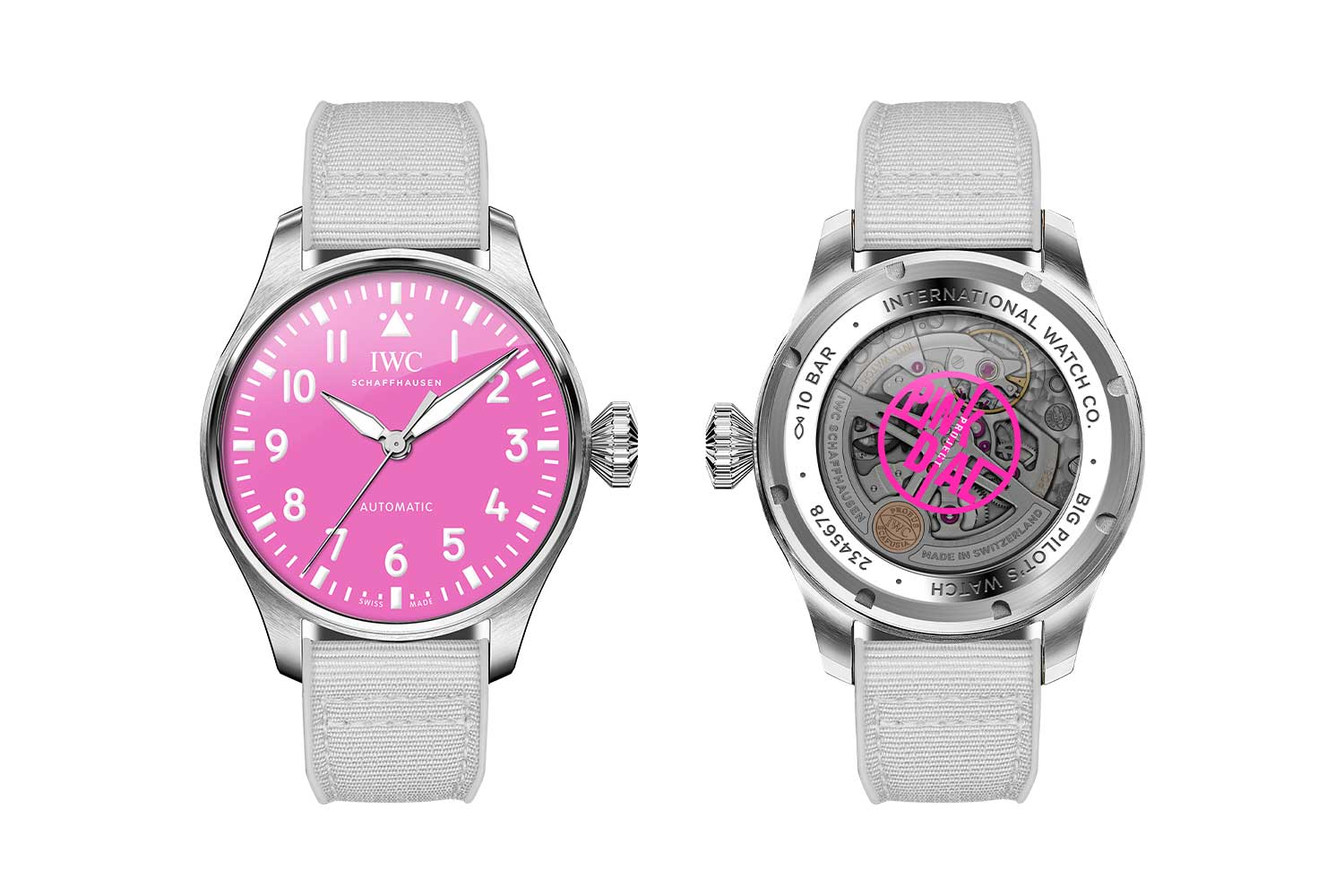 We Support The Pink Dial Project