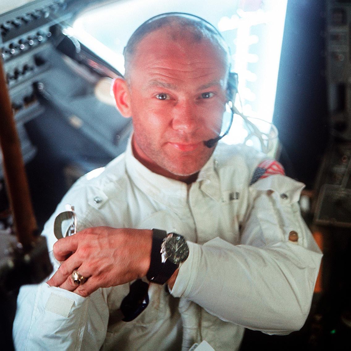 "Edwin ""Buzz"" Aldrin and his Speedmaster 105.012"
