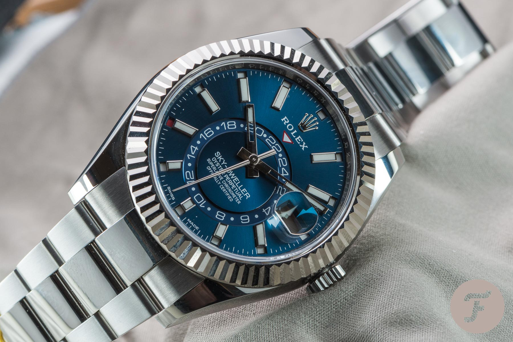 The Rolex Sky-Dweller Is The Misunderstood Genius You Need In Your Life