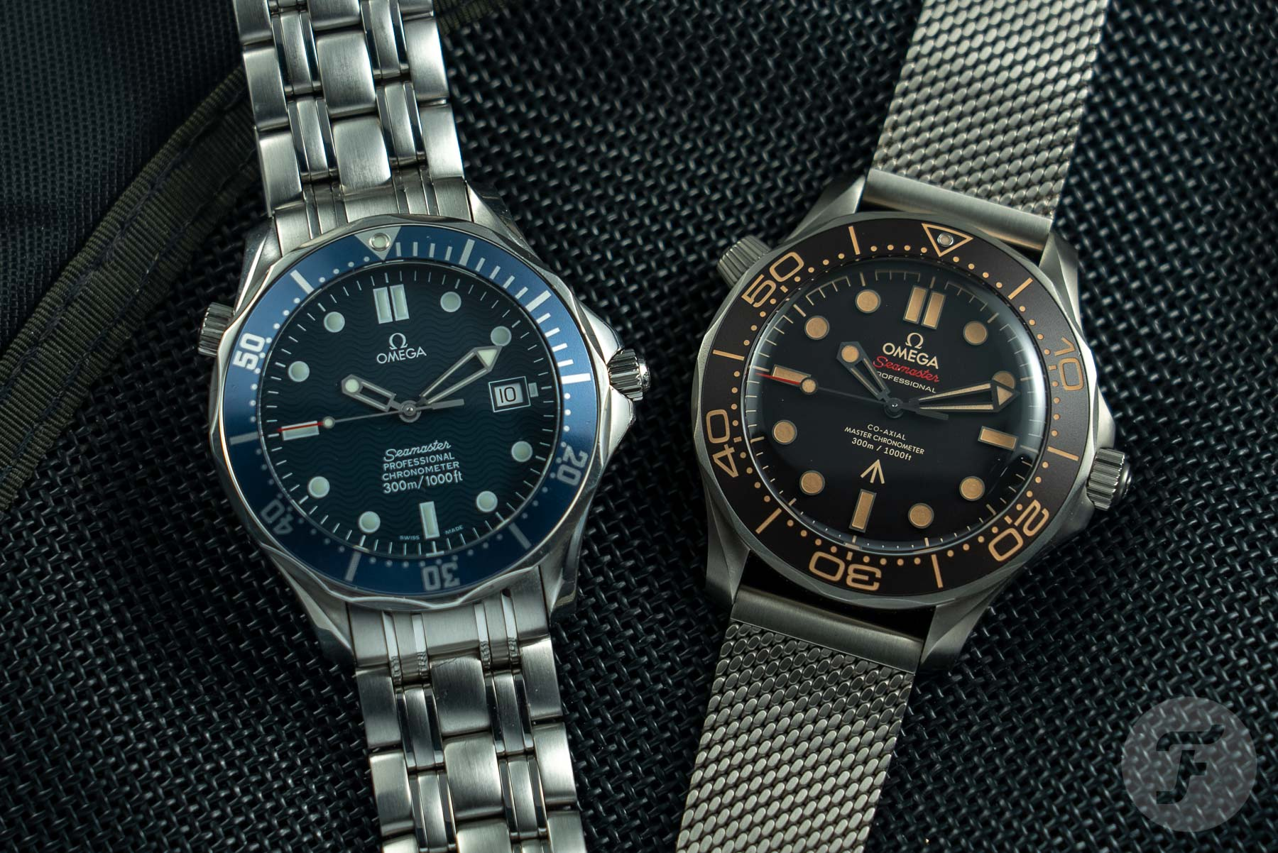 The Evolution Of James Bond's Omega Seamaster Watches — Then And Now