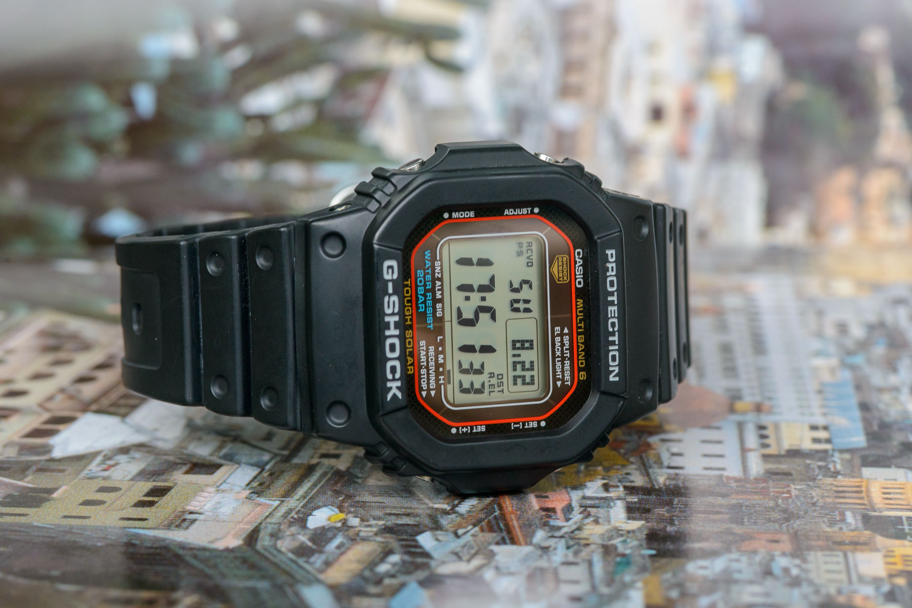 gshock gwm5610u 6884 - Đánh giá đồng hồ G-Shock Square GW-M5610U