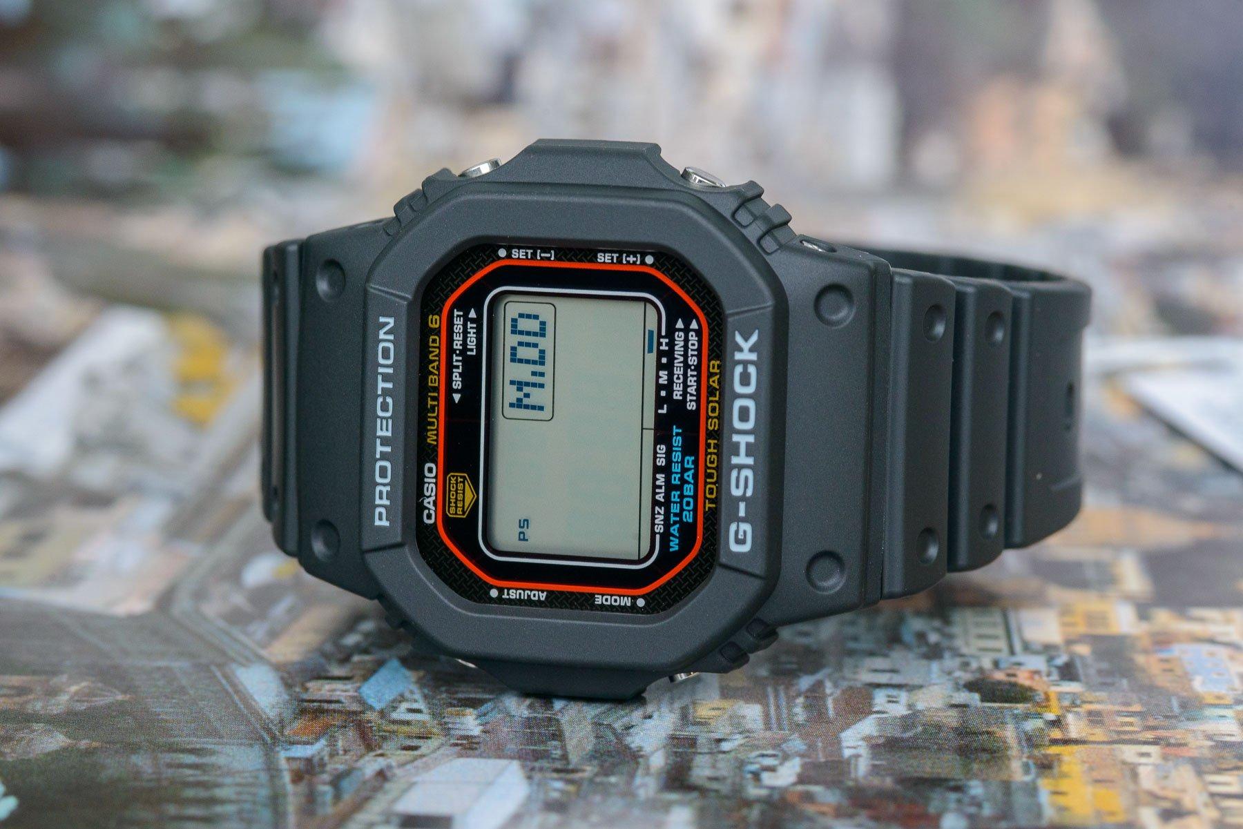 gshock gwm5610u 6901 - Đánh giá đồng hồ G-Shock Square GW-M5610U