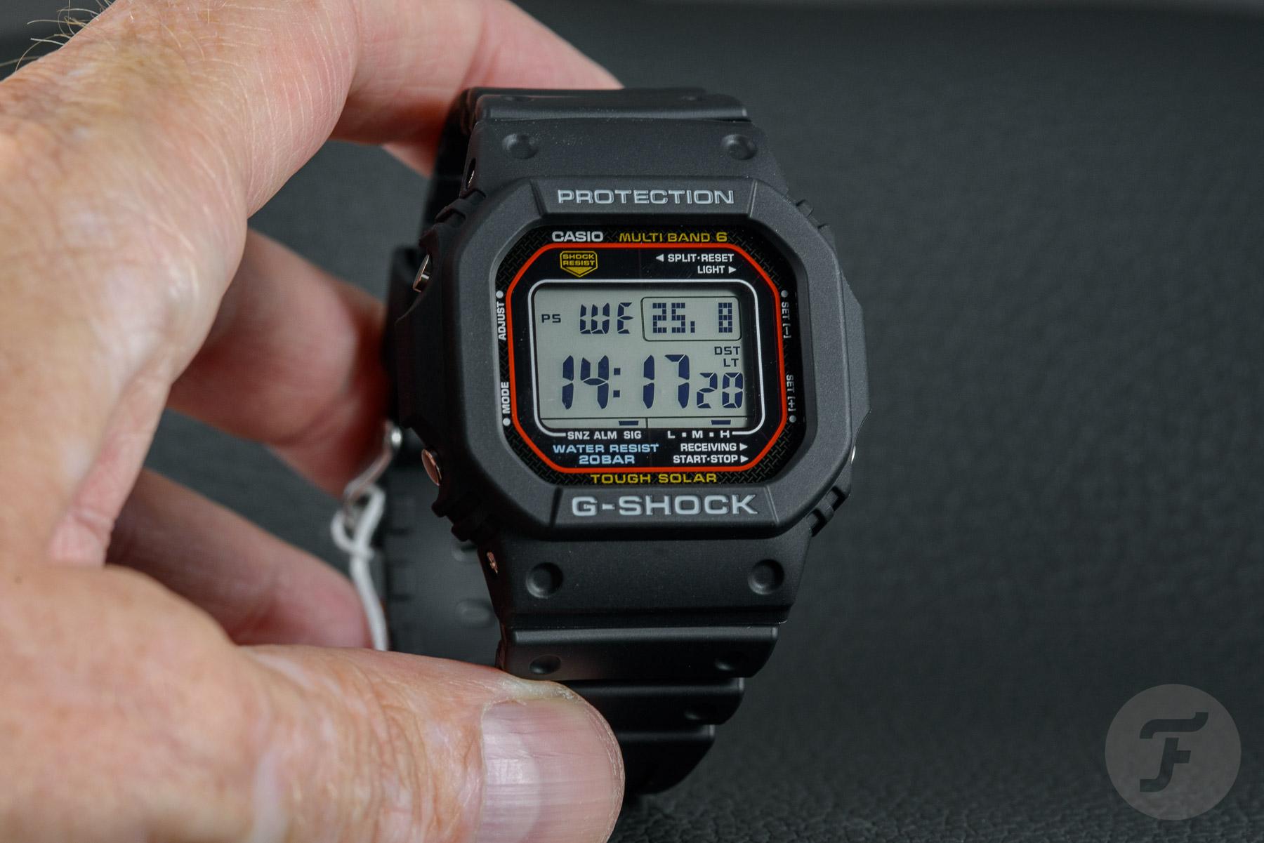 gshock gwm5610u 6994 - Đánh giá đồng hồ G-Shock Square GW-M5610U