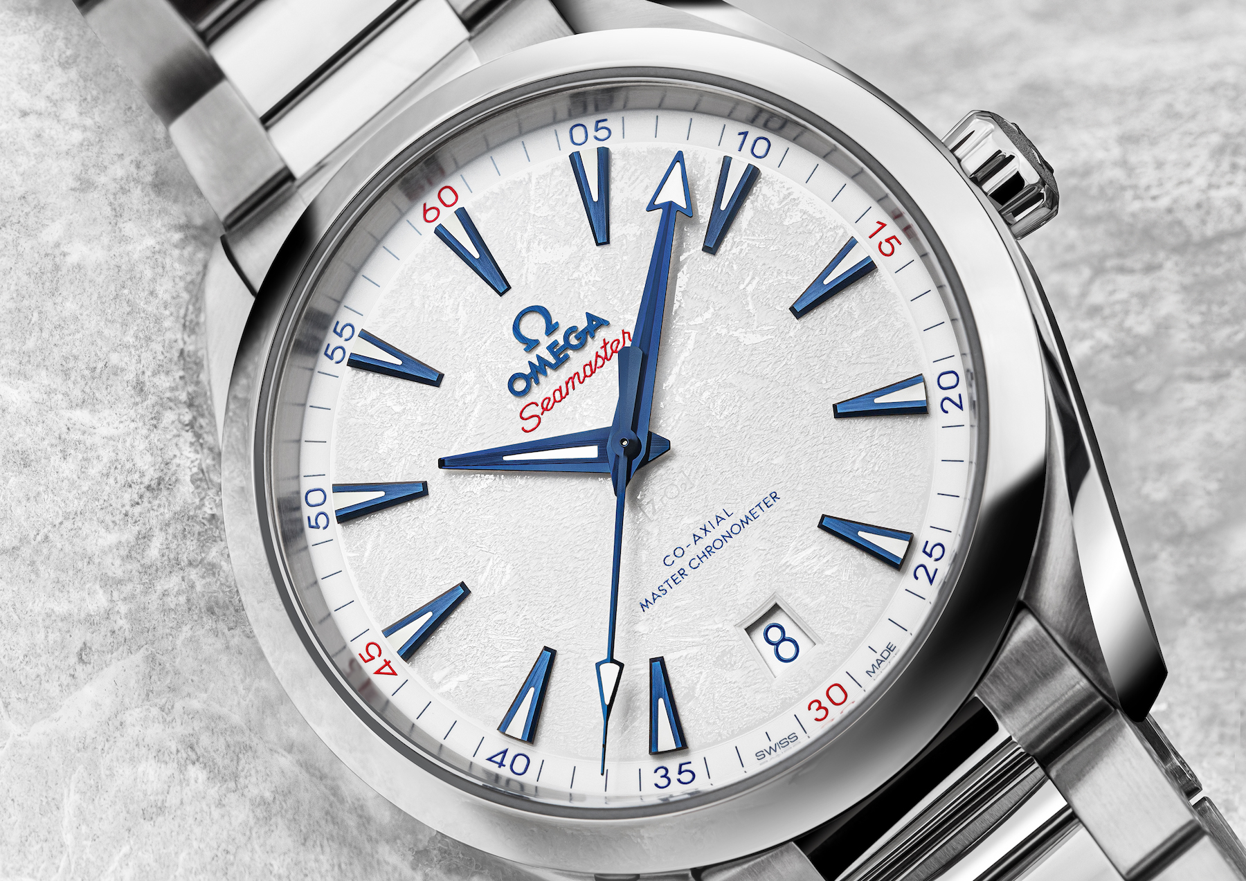 Omega Launches An All-New Seamaster Aqua Terra Beijing 2022 In Celebration Of The Upcoming Olympic Winter Games